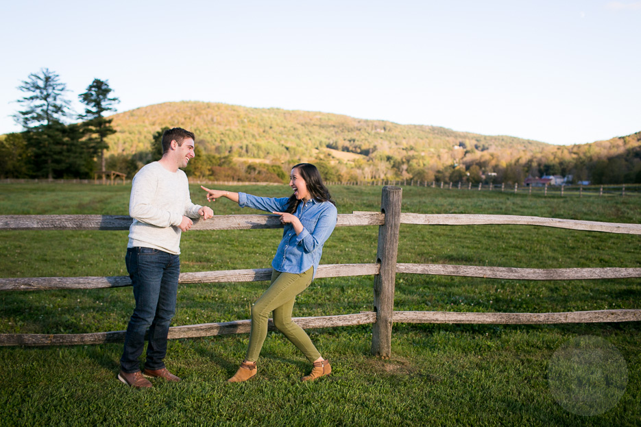 Engagement Session in the fall of 2018 at Billings Farm in Woodstock, Vermont.